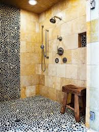 unique bathroom river stone tile houzz in riverstone find best