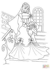 princess wedding dress super coloring ausmalbilder barbie