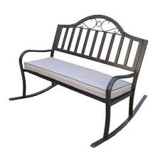 Metal Patio Rocking Chairs Metal Patio Furniture Rocking Chairs Patio Chairs The Home Depot