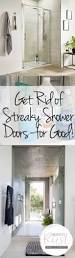 get rid of streaky shower doors for good wrapped in rust