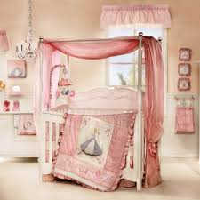 Gorgeous Bedding Bedroom Beautiful Canopy Crib And Pink Bedding Inside Gorgeous