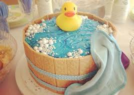duck cake rubber ducky baby shower cake recipe by grace windu cookpad