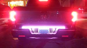 line of fire led tailgate bar honda ridgeline owners club forums