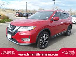 red nissan rogue certified pre owned nissan for sale near denver larry h miller