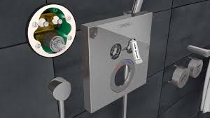 Hansgrohe Shower Valve Hansgrohe Showerselect Installation In A Renovated Bathroom Youtube