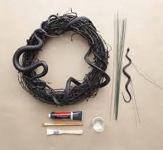 martha stewart halloween snake wreath