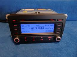 vw volkswagen rcd 300 cd radio autoradio carradio car 1k0035186j