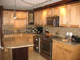 Kitchen Design Oak Cabinets Kitchen Cabinets White Oak Cabinets With White Appliances Small