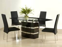 modern dining room table and chairs modern walnut stainless steel