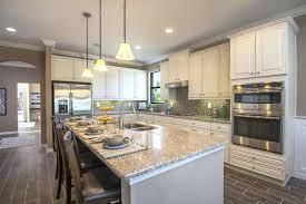 kitchen island idea oversized kitchen islands rustic u shaped kitchen idea in with a