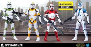 wars the black series order 66 clone troopers 4 pack the
