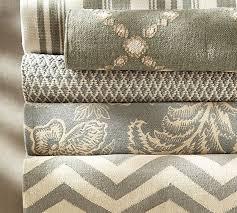 basic diamond recycled yarn indoor outdoor rug gray pottery barn