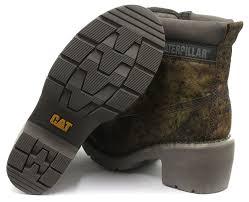 womens caterpillar boots uk caterpillar ottowa 6 green camo womens ankle boots size uk 3 eu