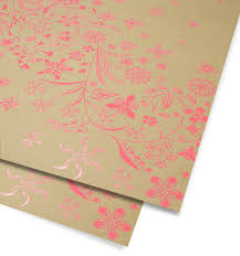 pink gift wrap wildflower pink gift wrap by tord boontje lagom design