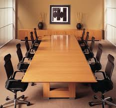 12 ft conference table veneer conference table at rs 135000 piece s boardroom table