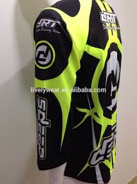 custom motocross jersey 2016 wholesale sublimation custom mx shirts fluorescence printing