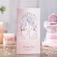 cinderella wedding invitations 12 pink cinderella wedding invitations castle wedding invitation