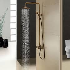shower stunning exposed pipe tub and shower set 99 classic two