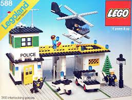 Lego Headquarters 588 1 Police Headquarters Brickset Lego Set Guide And Database