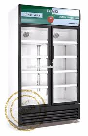 Glass Refrigerator Doors by 2017 Hot Selling 3 Glass Doors Commercial Refrigerator Showcase