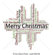clipart vector merry christmas tag cloud languages