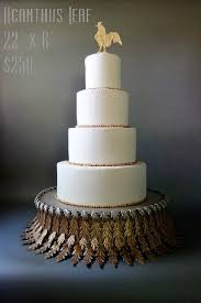 cake plateau original designs chanticleer wedding