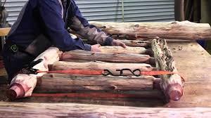 Cedar Dog Bed Rustic Log Bed Littlebranch Farm Youtube