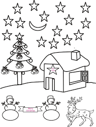 winter scenery colouring pages for coloring at scenery coloring