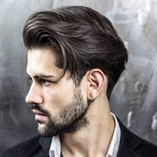 Hairstyle Catalog Men by Fashionable New Straight Hairstyles For Men