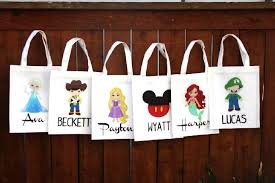 personalized trick or treat bags personalized trick or treat bags 8 50 mario disney elsa
