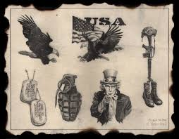 america military tattoo designs in 2017 real photo pictures