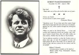 funeral card kennedy funeral card envisioning the american