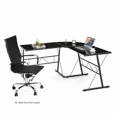 ikayaa l shaped corner computer desk pc laptop table office