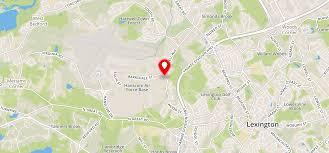 Lexington Ma Zip Code Map by Katahdin Woods Apartments Lexington Ma 02421