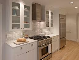 Modern Galley Kitchen Design Kitchen Gallery Kitchen With White Designs Include White