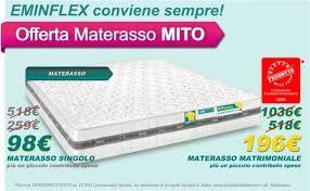 prezzi materasso singolo materassi eminflex prezzi avec offerta singoli di et materasso