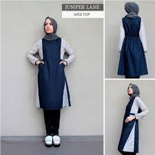 Baju Muslim Wanita grosir busana muslim juniper grosir baju muslim pakaian
