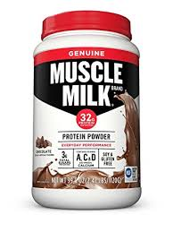 muscle milk light bars amazon com muscle milk genuine protein powder chocolate 32g