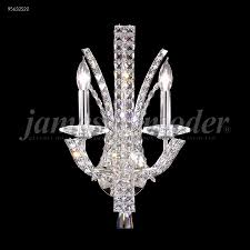 Crystal Wall Sconce by R Moder 95632s22 Eclipse Fashion 2 Light Crystal Wall Sconce In