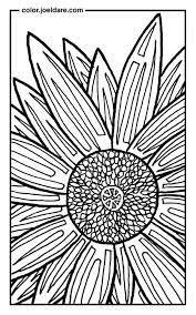 Sunflower Coloring Page Magic Mosaic Book Mystery Pages Pdf Mosaic Mystery Coloring Pages