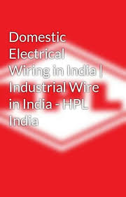 domestic electrical wiring in india industrial wire in india