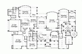 7 bedroom house plans luxury house plan 7 bedrooms 7 bath 10560 sq ft plan 19 541
