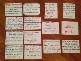 ideas about Anniversary Scavenger Hunts on Pinterest     Pinterest
