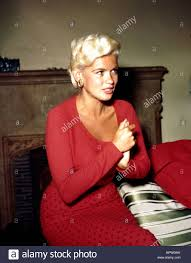 jayne mansfield actress 1962 stock photo royalty free image