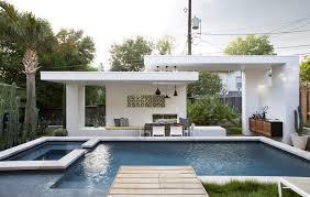winflo pool and cabana in austin e architect