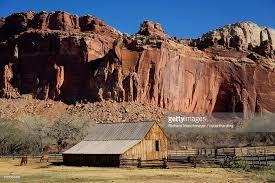Cliff Barn Historic Gifford Homestead Barn Dating From 1908 Capitol Reef