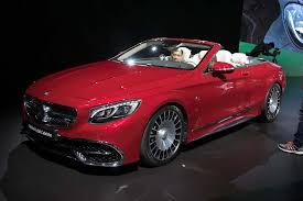 rare 2017 mercedes maybach s650 cabriolet debuts in l a motor trend