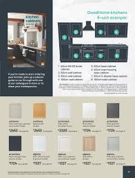 b q kitchen wall cabinets white b q leaflet page 97 my leaflet
