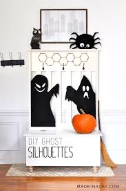 haunted ghost silhouettes made in a day