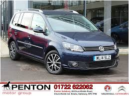 volkswagen harlequin interior used volkswagen touran sport for sale motors co uk